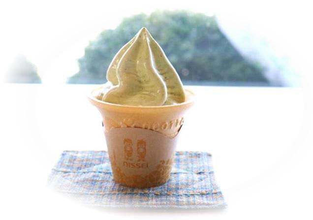 高柳製茶 ソフトクリーム