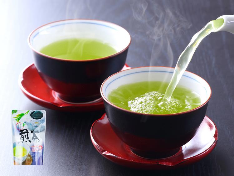 深蒸し茶「高級」ティーバッグ2g×40